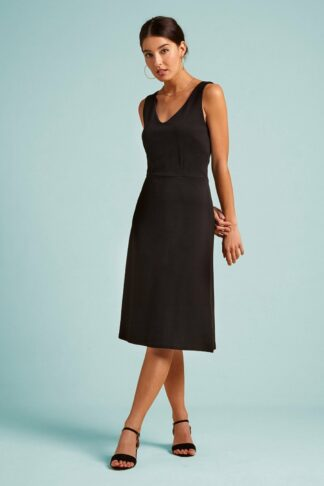 60s Lucia Milano Dress in Black