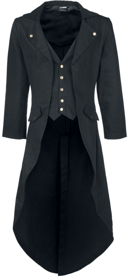 Banned Alternative - Dovetail Coat - Militärmantel - schwarz