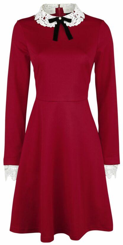 Hell Bunny - Ricci Dress - Kurzes Kleid - rot