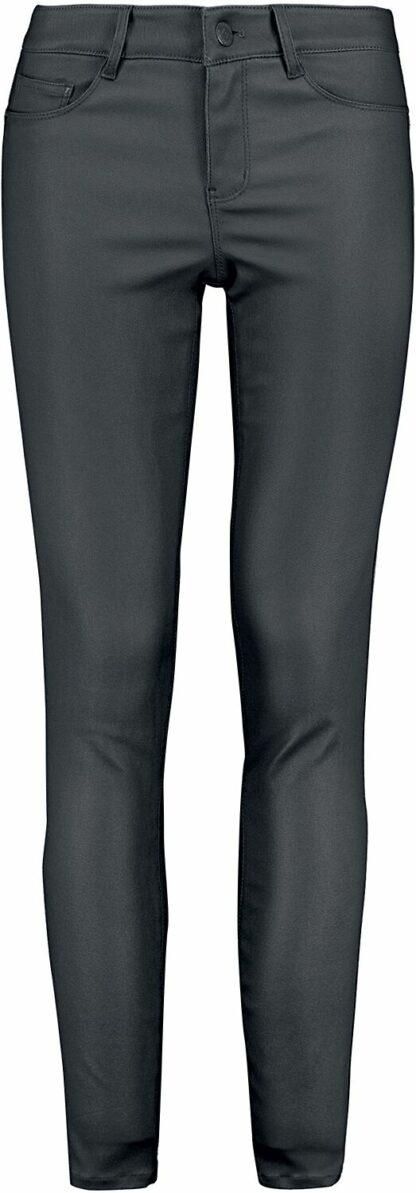 Sublevel Ladies Skinny 5 Pocket Trousers Jeans schwarz
