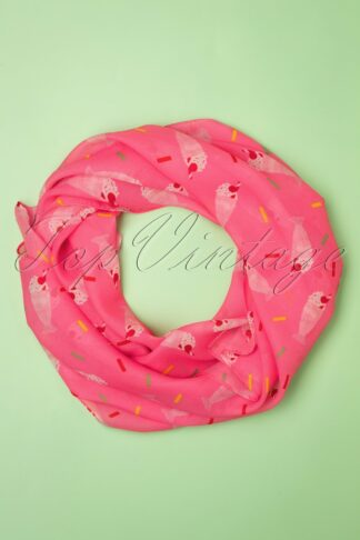 TopVintage exclusive ~ 60s Shake, Rattle And Roll Head Scarf