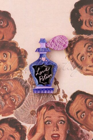 TopVintage exclusive ~ Bewitching Brew Brooch