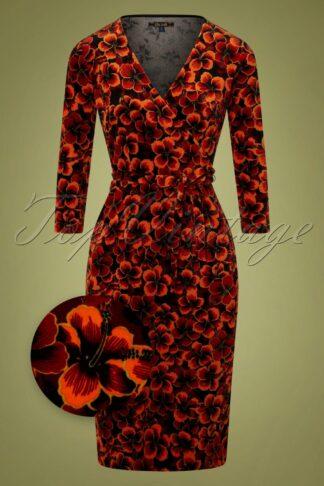 50s Anja Ceylon Dress in True Red