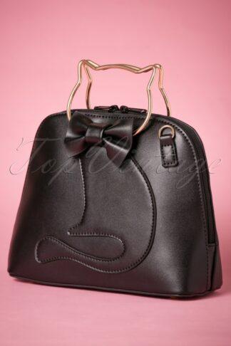 50s Dixie Cat Bag in Black