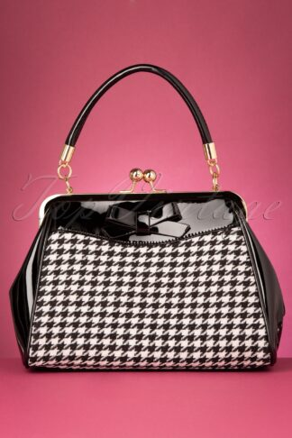 50s Gene Handbag in Black and White
