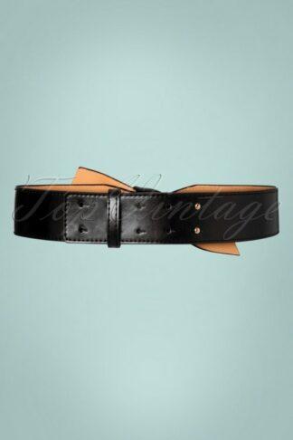 50s Helene Belt in Black