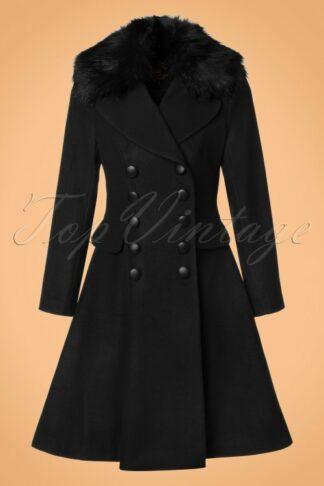 50s Milan Coat in Black