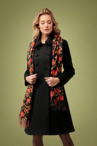 60s Aubrey Coat in Black