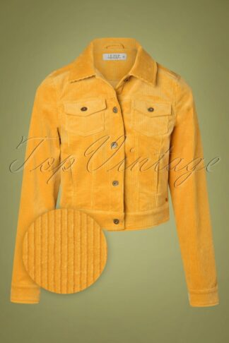 70s Dalma Jacket in Golden Yellow