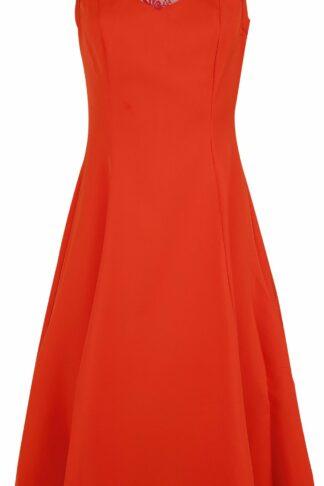H&R London - Amora Dress - Kleid knielang - rot - EMP Exklusiv!