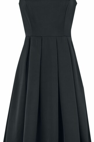 H&R London Ariella Dress Mittellanges Kleid schwarz