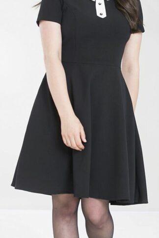 Hell Bunny - Bow Dress - Kleid knielang - schwarz