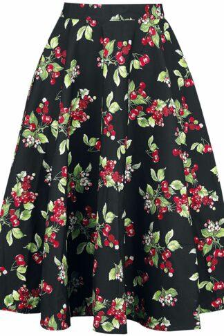 Hell Bunny - Cherie 50's Skirt - Rock knielang - schwarz
