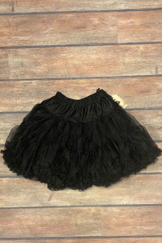 Letzte Chance - Petticoat schwarz - kurz von Rockabilly Rules