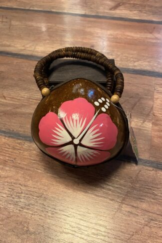 Letzte Chance - Pin Up Hawaii Handtasche Kokosnuss von Rockabilly Rules