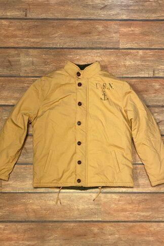 Letzte Chance - Rumble59 - Deck Jacket - beige von Rockabilly Rules