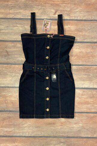 Letzte Chance - Rumble59 Ladies Denim - Jeanskleid | Perfect Minidress von Rockabilly Rules