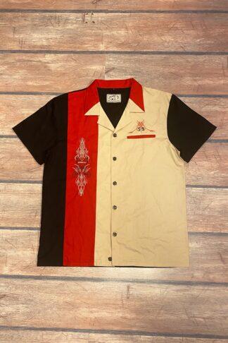 Letzte Chance - Rumble59 - Lounge Shirt - Pinstripe Paradise von Rockabilly Rules