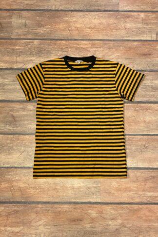 Letzte Chance - Rumble59 - Ringel-Shirt - senf/ schwarz von Rockabilly Rules