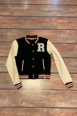 Letzte Chance - Rumble59 - Sweat College Jacke - schwarz II von Rockabilly Rules