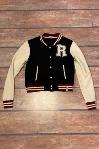 Letzte Chance - Rumble59 - Sweat College Jacke - schwarz von Rockabilly Rules
