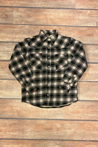 Letzte Chance - Rumble59 - Winter Shadow Plaid Shirt | Flanellhemd - Idaho von Rockabilly Rules