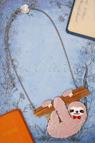 TopVintage exclusive ~ Cyril The Sloth Necklace