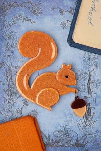 TopVintage exclusive ~ The Satisfied Squirrel Brooch