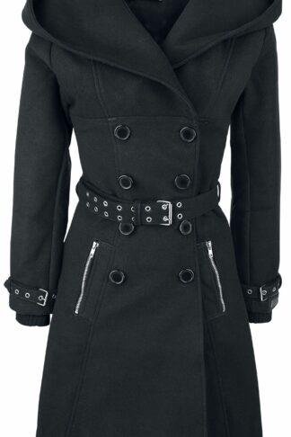 Vixxsin Decay Coat Wintermantel schwarz