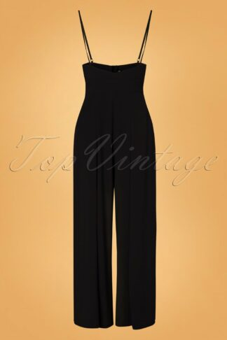 40s Kourt Trousers in Black