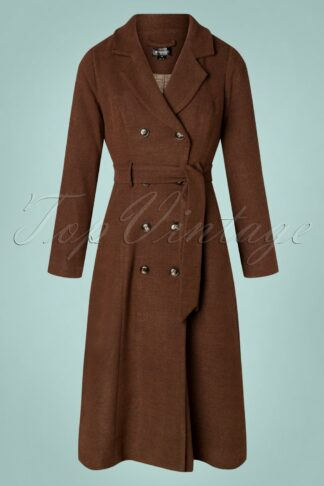 70s Emberly Coat in Brown