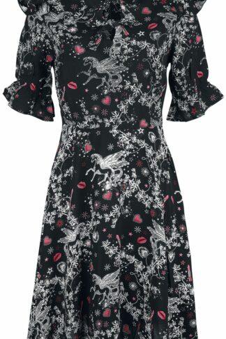 Hell Bunny - Fantasia Dress - Kleid knielang - schwarz|grau