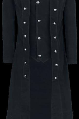 Vixxsin - Walker Coat - Wintermantel - schwarz