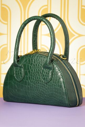 60s Oh My Croc Bag in Green