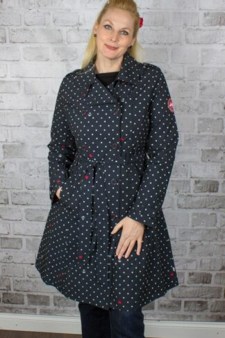 Blutsgeschwister Trenchcoat Spy of Love, casual anchor von Rockabilly Rules