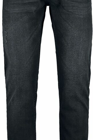 Sublevel Denim Men's Slim Denim Jeans schwarz