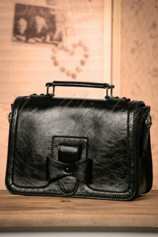 50s Scandal Office Handbag in Black