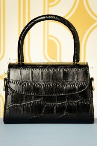 60s Sizzling Snake Bag in Black