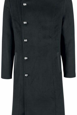 H&R London Winter Coat Wintermantel schwarz