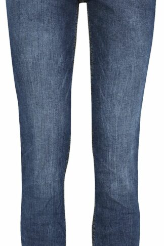 Sublevel Denim Ladies Skinny Denim Trousers Jeans dunkelblau