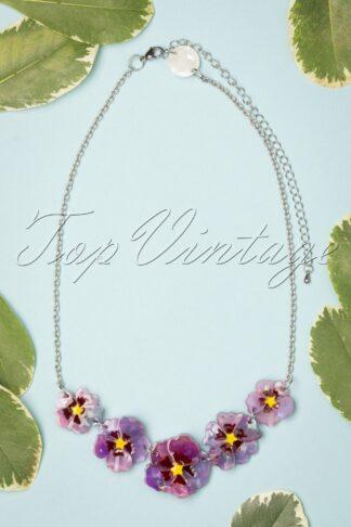 TopVintage exclusive ~ Purple Prose Necklace