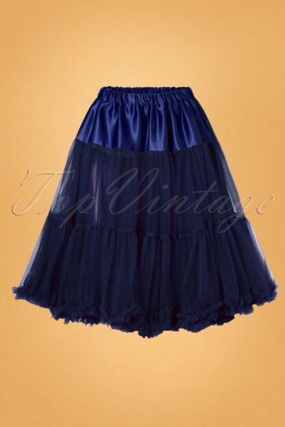 50s Arly Petticoat in Navy