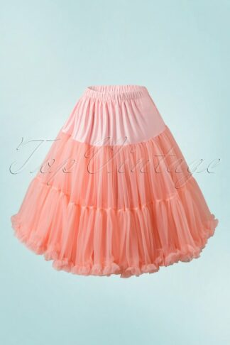50s Lola Lifeforms Petticoat in Salmon Pink
