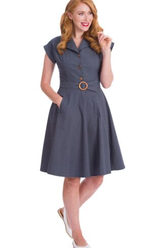 Banned Swingkleid Spot Perfection Fit and Flare von Rockabilly Rules