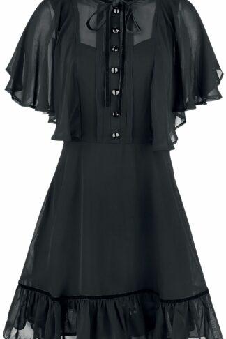 Hell Bunny Imperia Dress Kurzes Kleid schwarz