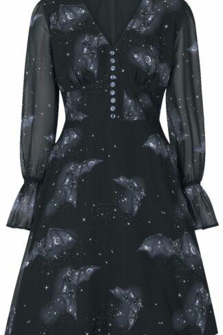Hell Bunny Twilight Mid Dress Mittellanges Kleid schwarz