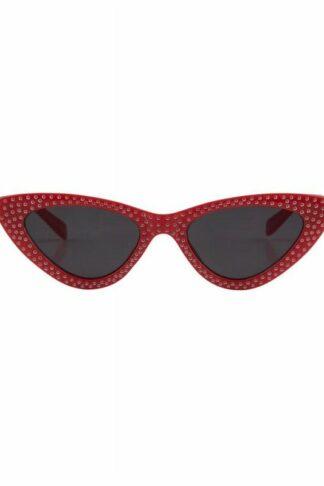 Lucille Cateye Sonnenbrille Rot
