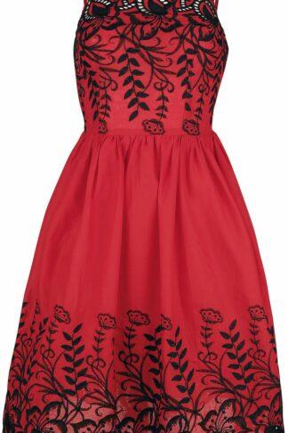 Voodoo Vixen Kurzes Kleid rot