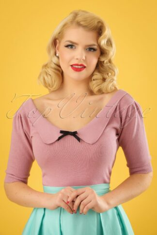 50s Babette Jumper in Pink