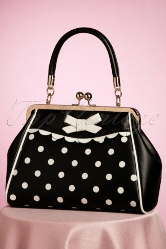 50s Crazy Little Thing Bag in Black